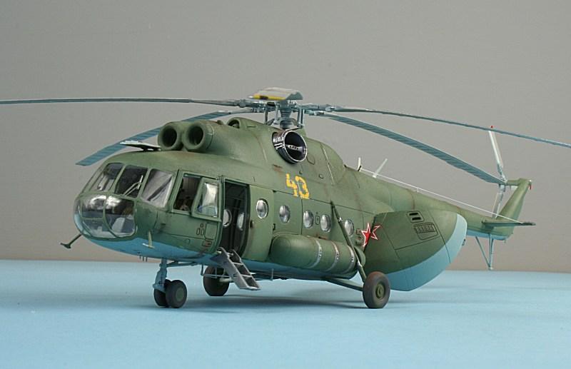 HobbyBoss 1//72 Mil Mi-8T Hip-C # 87221