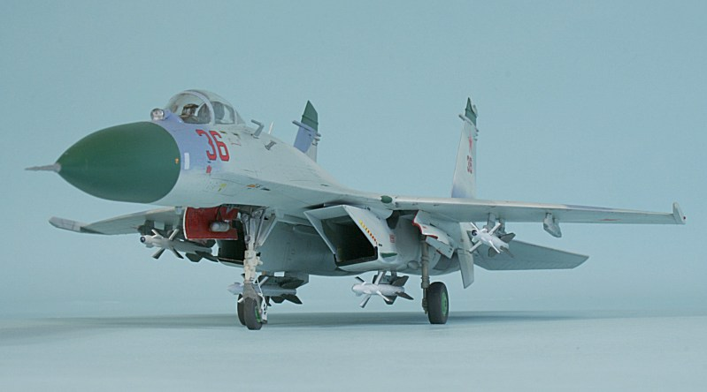 Trumpeter Su 27 Early Flanker C