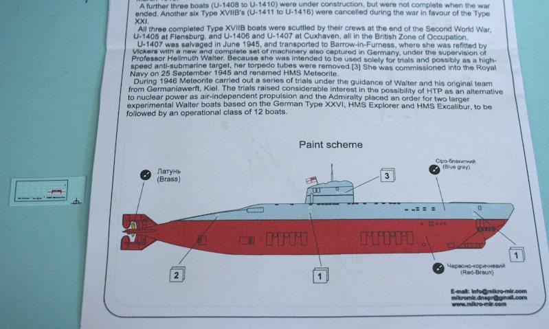 Model Submarines British