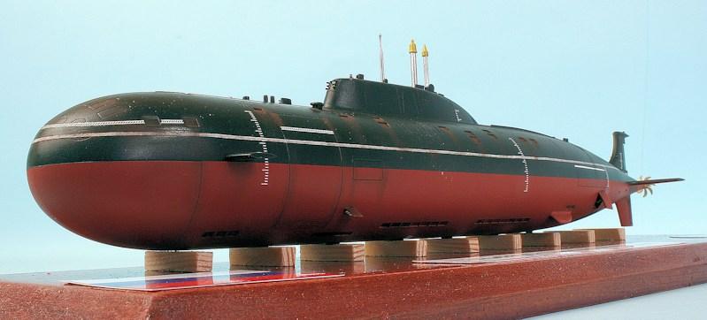 Russian Akula Ii Class Submarine Gepard Cheetah