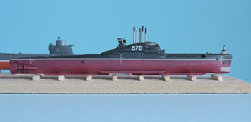 Model Submarines 1/700 scale